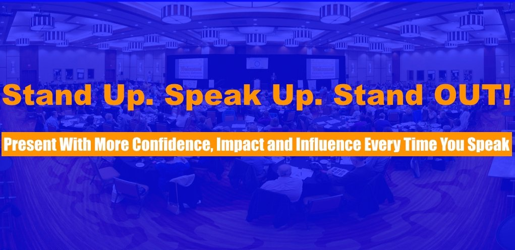 Congratulations on Investing in 'Stand Up. Speak Up. Stand OUT!'